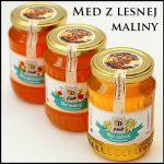 malinový med